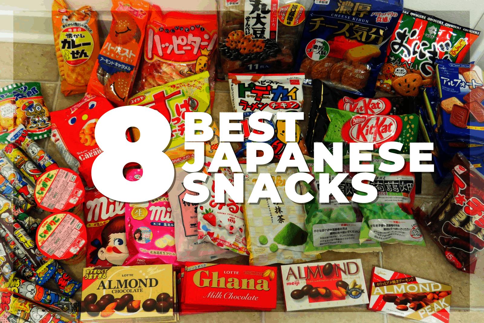 best japanese snacks