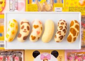 The tokyo banana snacks